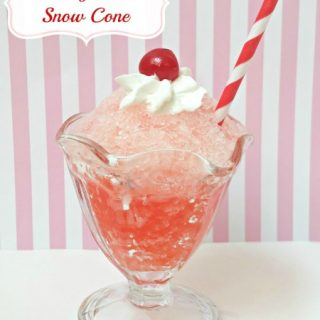 Cherry Soda Snow Cones