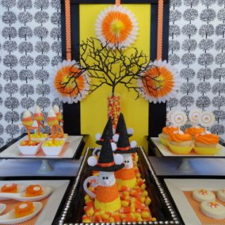 Halloween Candy Corn Party