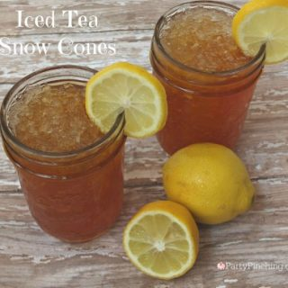 Iced Tea Snow Cones