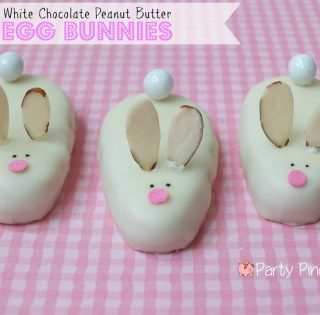 Peanut Butter Egg Bunnies