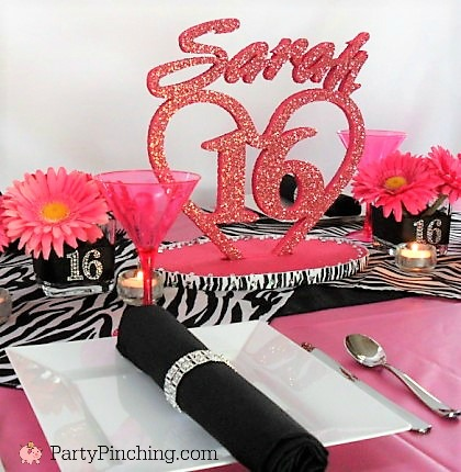 A sweet table setting can be fun and affordable u2013 filled with the birthday girlu0027s favorite like pizza cute finger foods adorable mini appetizers! & SWEET 16 - Party Pinching