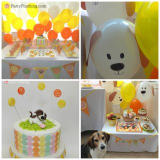 Dog party ideas, party for dogs, puppy party, pupcakes, dog theme food party, fun food for kids, cute food, dog food, cute dog biscuits treats, Beagle Freedom Project