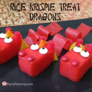 Rice Krispie Dragon Treats