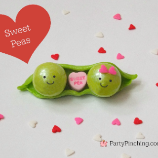 Valentine's Day dessert, Valentine's Day cute party ideas, cute food, Sweet pea valentine's Day, fun food for kids, easy Valentine's Day dessert