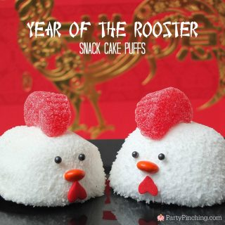 Rooster Snack Cake Puffs
