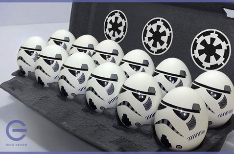Star Wars Easter eggs stormtroopers Best Easter food and craft ideas,