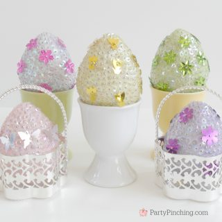 SEQUIN EGG CRAFT