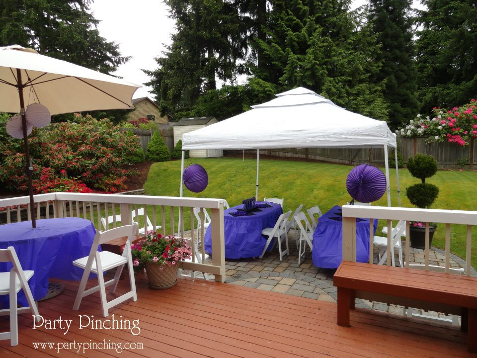 High school graduation open house party party pinching for High end event ideas