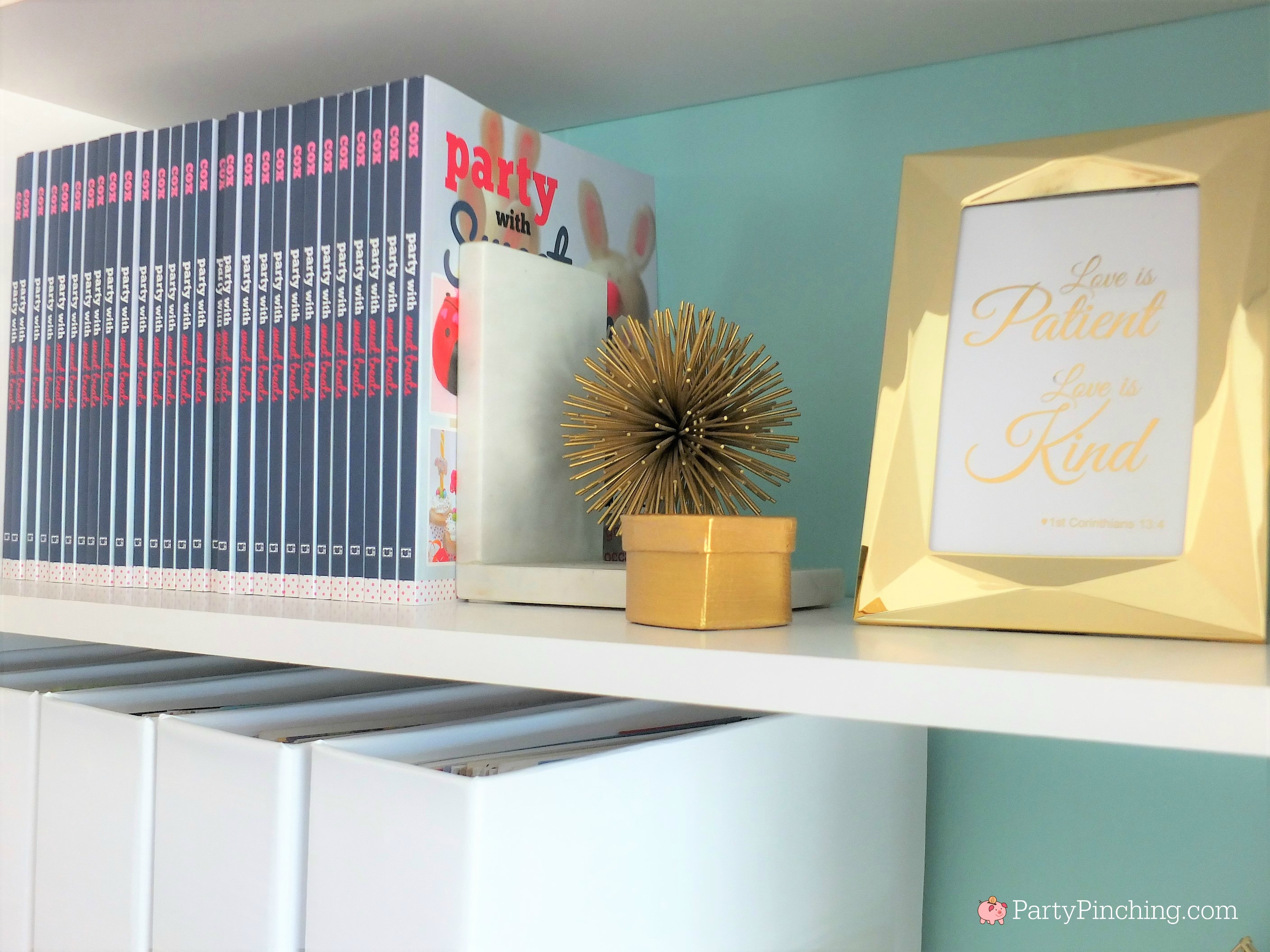 home office makeover. Tiffany Blue Home Office, Pretty Office Makeover, Remodel, Budget Friendly Makeover