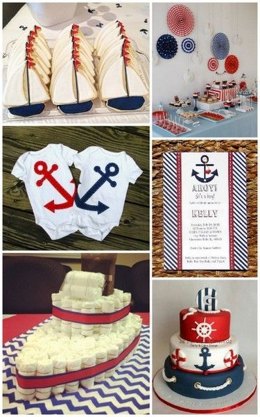 nautical ahoy baby shower idea, baby shower ideas, cute baby shower, best baby shower ideas, baby shower cake, fun games for baby shower, baby shower food