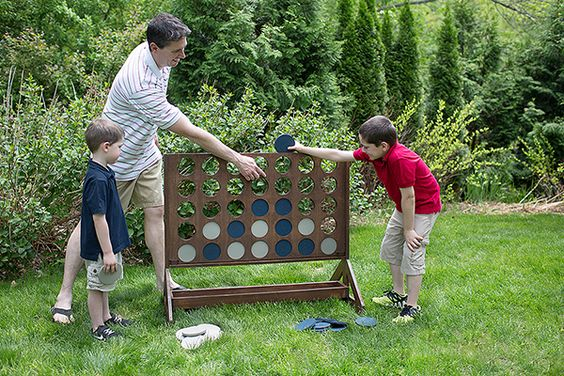 Diy Giant Connect 4 Four, Awesome Ideas To Keep Kids Busy Summer, Backyard  Party