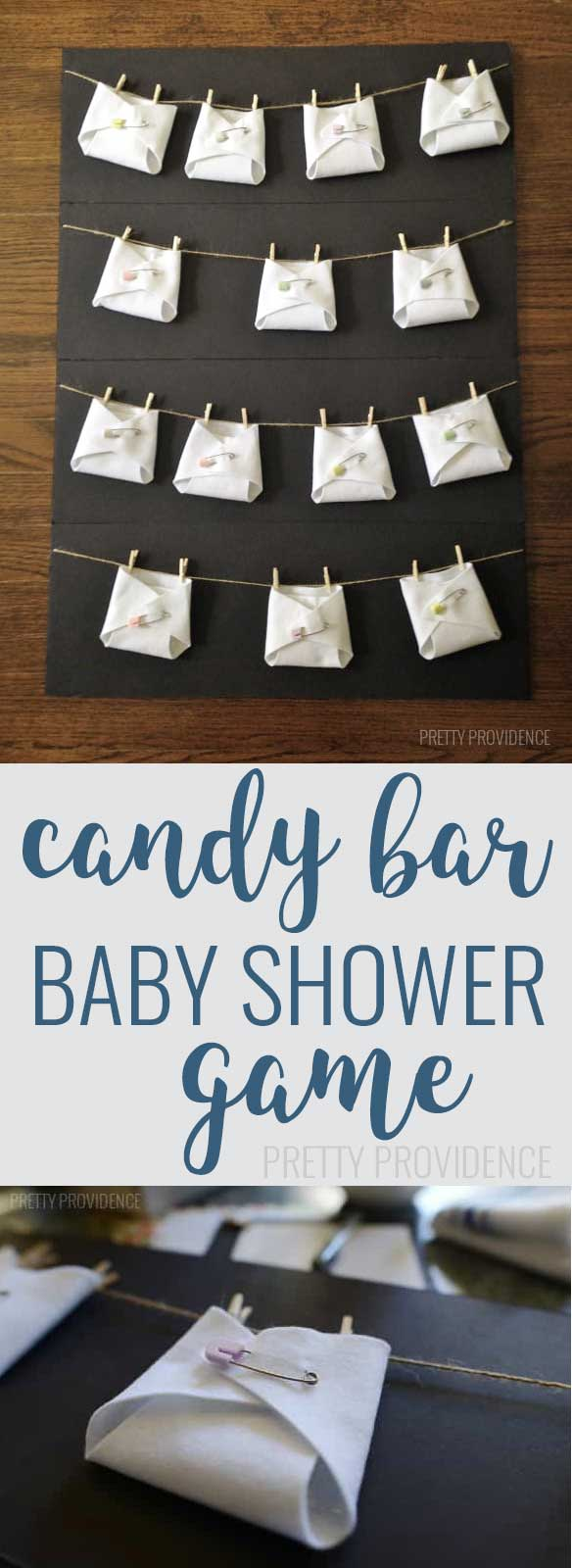 candy bar diaper game, baby shower ideas, cute baby shower, best baby shower ideas, baby shower cake, fun games for baby shower, baby shower food