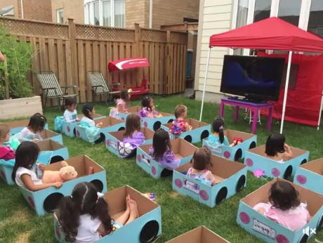 outdoor diy drive-in movie theater cardboard box cars for kids, awesome ideas to keep kids busy summer, backyard party ideas , Best summer backyard games and outdoor activities for kids, diy summer projects for kids,fun ideas for kids summer , fun summer ideas for children, lots of summer activities for kids, outdoor games for summer,