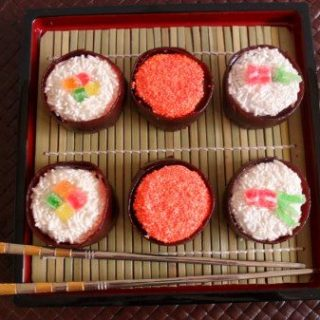 April Fools' day food, Sushi donuts, fun food for kids, cute food, prank joke dessert food treats