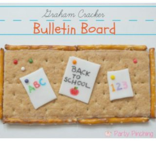 back to school bulletin board snack graham cracker cute school snack