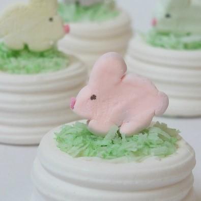 Bunny Meringue Cups