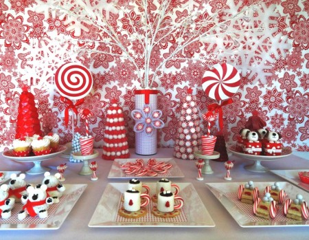 christmas desserts cute christmas food cute christmas red and white christmas decorations - Christmas Dessert Decorations