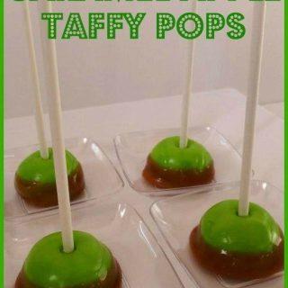Thanksgiving caramel apple taffy pops, cute food, Thanksgiving dessert, snack, treat ideas, easy fun food for kids
