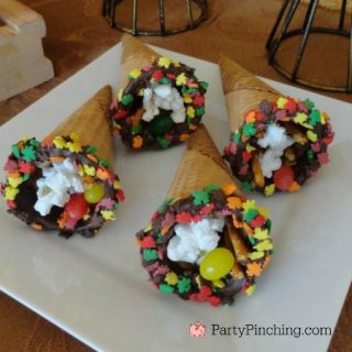 Thanksgiving dessert for kids, easy Thanksgiving dessert ideas, fun food for kids, cute food