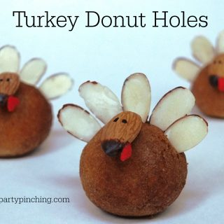 TURKEY DONUT HOLES