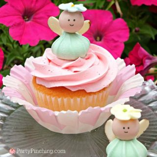 fairy garden cupcake tutorial, fairy cupcake recipe, fairy garden crafts, fairy garden party ideas
