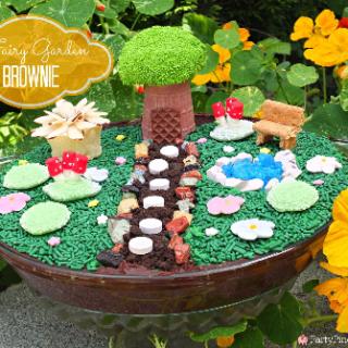 Fairy Garden Brownie