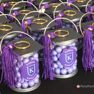paint can tassel graduation favors, best DIY grad favors, grad party favors, easy graduation party ideas, graduation favors, cap and tassel favors, cute graduation party ideas, graduation open house ideas