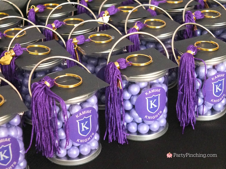 graduation party favors mortar board cap mini paint cans ...