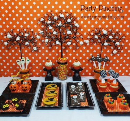 Halloween No Tricks, Just Treats are found on Party ...