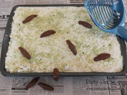 kitty litter cake april fools' day prank food