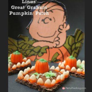Linus' Great Graham Pumpkin Patch