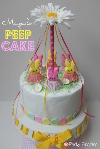 MAYPOLE PEEP CAKE