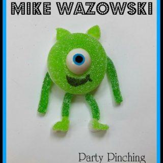 Mike Wazowski Apple Ring Candy