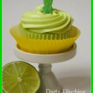 Sour Patch Popsicle Cupcakes