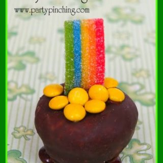 Pot of Gold Mini Donuts