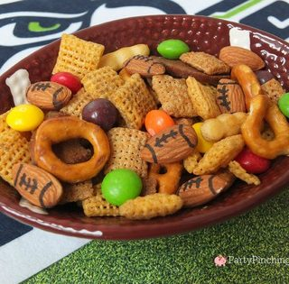 Seahawks Chex Mix