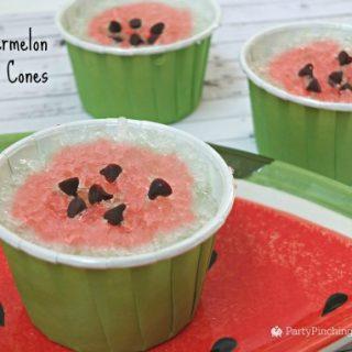 Watermelon Snow Cones