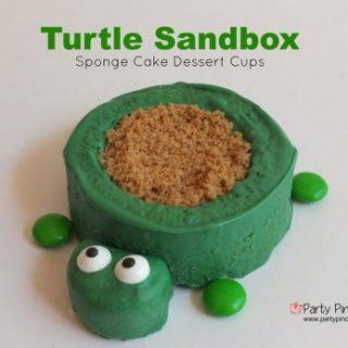 Turtle Sandbox Cookie