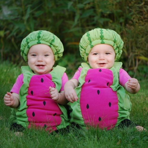 watermelon baby costume, Best Halloween costumes for kids, baby costumes, DIY kids costumes, easy kids costumes to make, adorable and cute Halloween costumes for toddlers and infants, Halloween party ideas