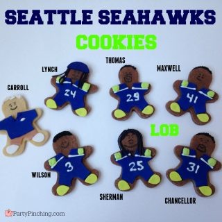 SEATTLE SEAHAWKS COOKIES