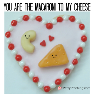 Valentine's Day cookies, easy Valentine's Day cookies, fun to decorate Valentine's Day cookies, perfect match perfect pair cookies, cute cookies for Valentine's Day, sweet treats, fun food for kids, cute food