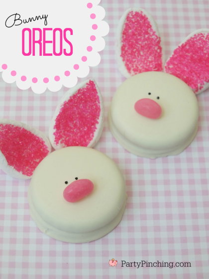 Easter Bunny Oreos Recipe Easy To Make Cookies For Kids