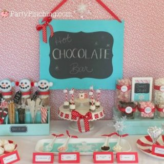 hot chocolate buffet bar, hot chocolate fixings, fun hot chocolate party, hot chocolate ideas, fun food for kids, cute food, diy hot chocolate mason jar gift cute, cute food, sweet treats