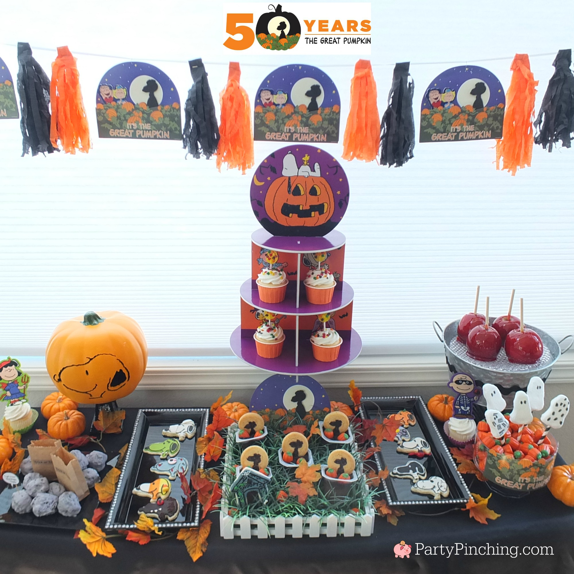 Great Pumpkin Charlie Brown Halloween Party ideas with