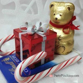 Lindt holiday chocolate, Christmas chocolate,