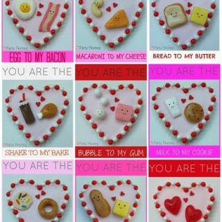 cute Valentine's day heart cookies, Valentine's heart cookies, easy and fun Valentine's Day dessert ideas, fun food for kids, cute food,