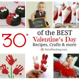 BEST VALENTINE'S DAY FOOD & CRAFT IDEAS ROUNDUP