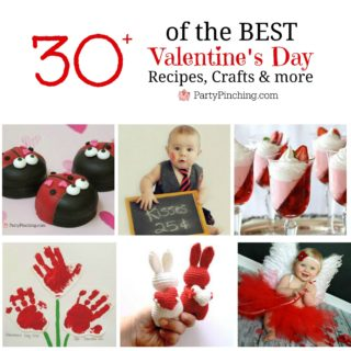 Valentine's Day Roundup, Best Valentine's Day ideas, valentine's day crafts, recipes for kids