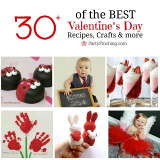 Valentine's Day Roundup, Best Valentine's Day ideas, valentine's day crafts, recipes for kids