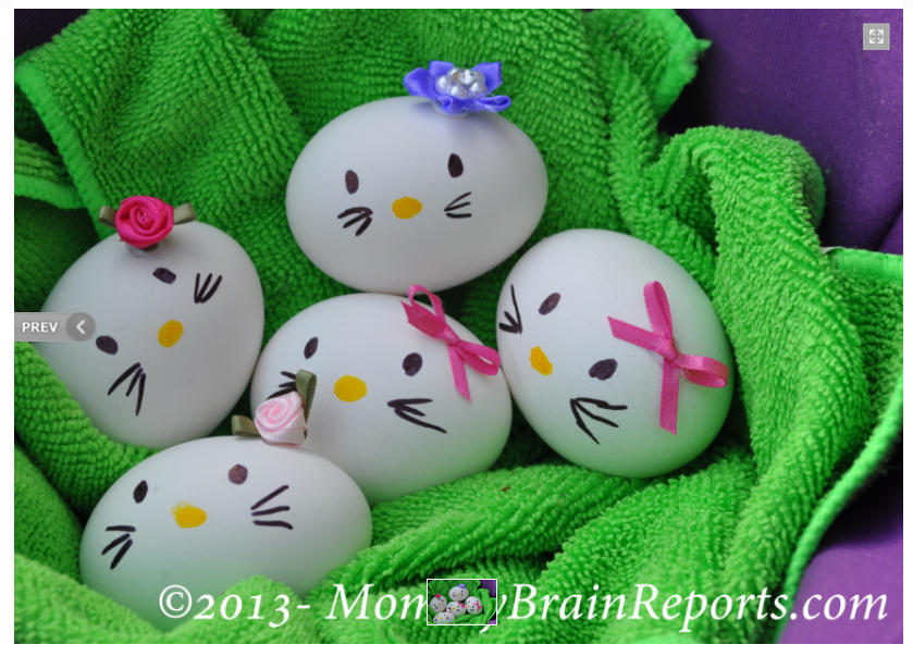 Best Easter food and craft ideas, Hello Kitty Easter Eggs